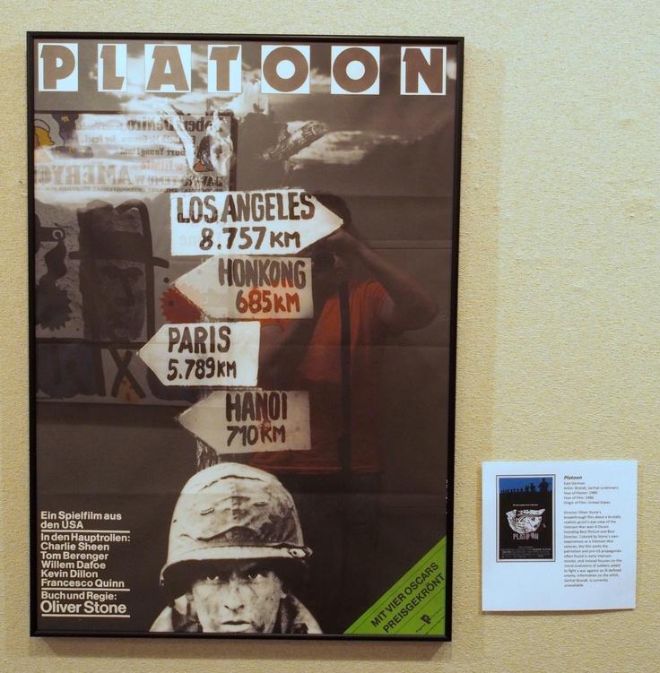 Platoon (East German poster)
