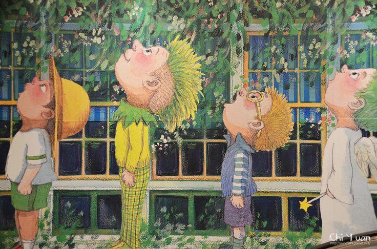 """Exposición de Jimmy Liao inspirada en su ultimo libro """"Lie to me?""""."""