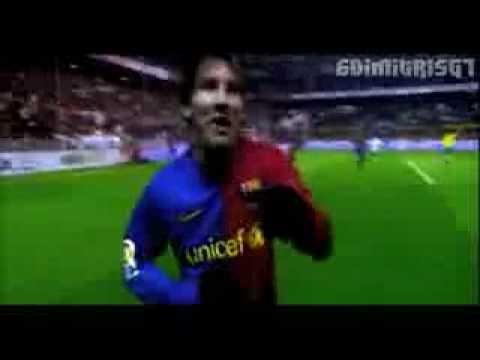 "▶ Cancion de Messi ""Pie de Oro Llego"" - Mejores Goles de Messi 2009 - YouTube"
