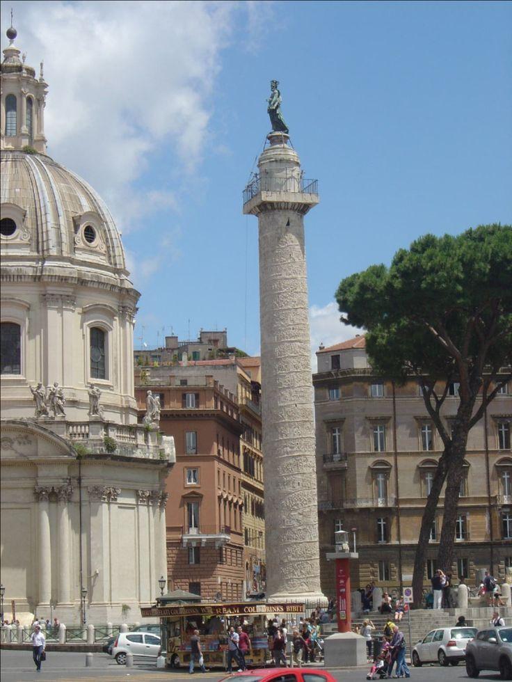 Column at the Trajan Forum, Rome