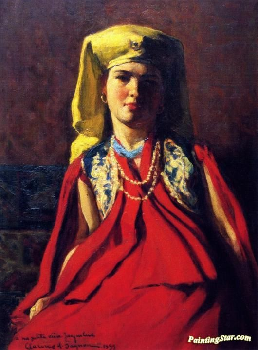 Armenian Woman Artwork by Clarence Gagnon Hand-painted and Art Prints on canvas for sale,you can custom the size and frame