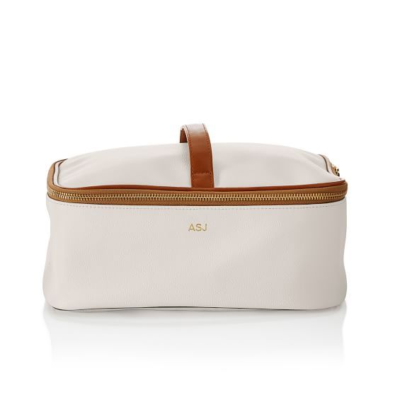 I NEED This!! ❤️❤️❤️Concourse 2-in-1 Cosmetics Case.  Gold monogram