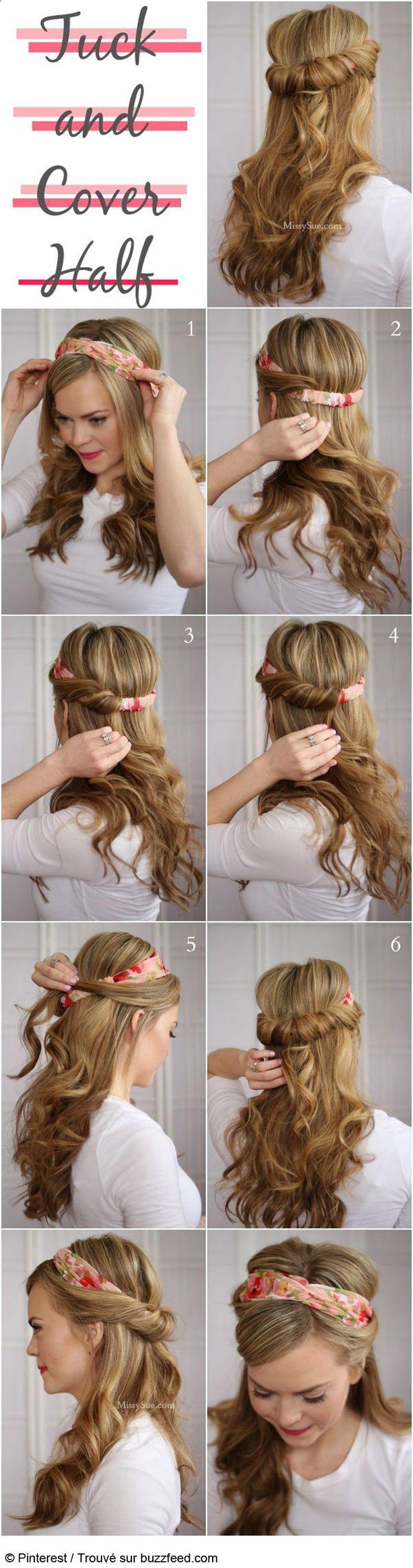 coiffure express pour les fetes
