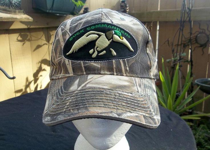 Duck Commander Camouflage Hat Adjustable Strap Cap #DuckCommander