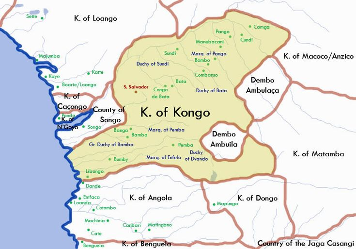 The slave and gold trade out of Africa contributed to consolidation of power in such places as the Kingdom of Kongo