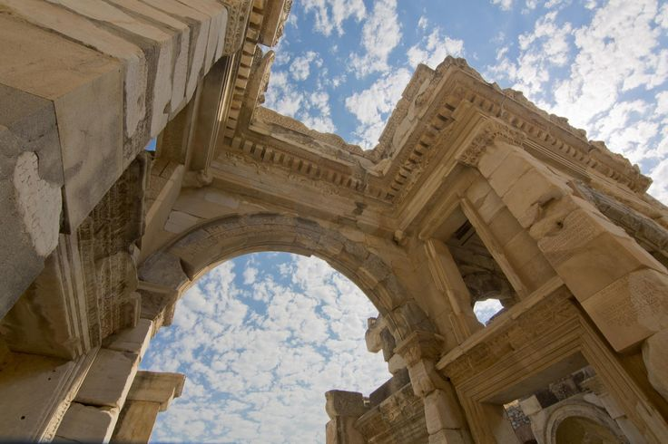 Visiting Kusadasi with Louis Cruises don't miss the excursion to the glorious ancient city of Asia Minor, Ephesus and one of the largest open-air archaeological museums in the world! #LouisCruises #excursion #Ephesus #ancient #city #museum