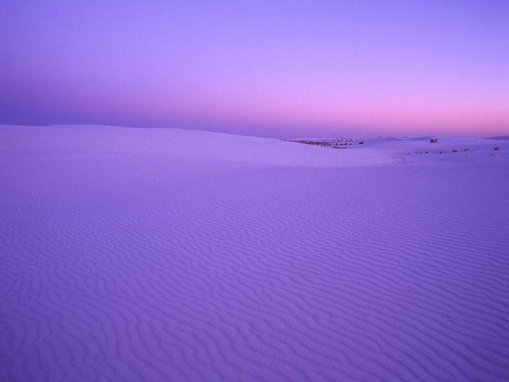 Белый песок, закат, фиолетовый обои, картинки, фото