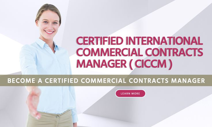Become a Certified Commercial Contracts Manager from the International Purchasing and Supply Chain Management Institute, USA. Learn more http://www.blueoceanacademy.com/courses/international-commercial-contracts-manager.html