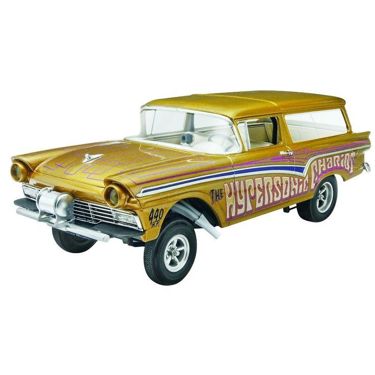 Revell 57 Ford Gasser Wagon 2 n 1 1/25 Modellauto Kit neu 4396 eBay – Car Model
