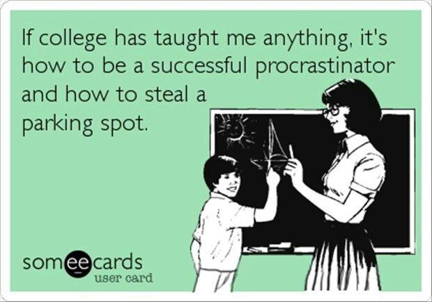 Very true!!!! XD college problems