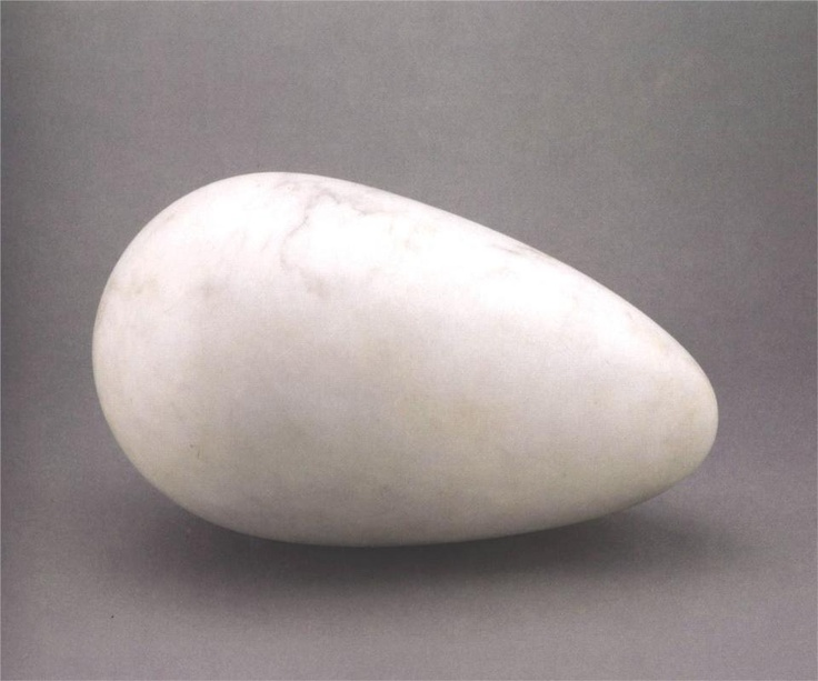 Constantin Brancusi / sculpture for the blind