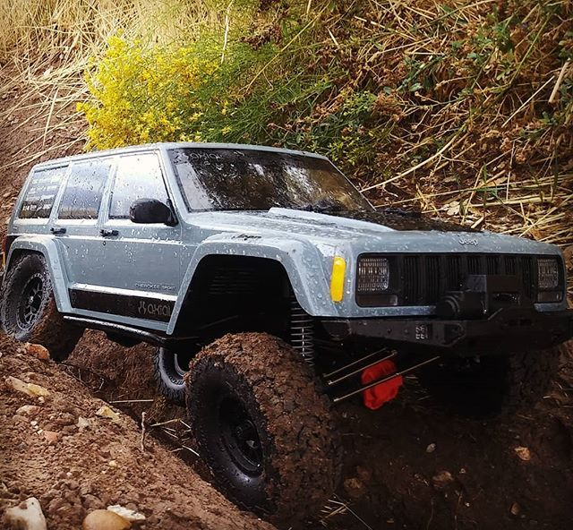 Welcoming The New 1 10 Scale Axial Jeep2000 To My Line Of