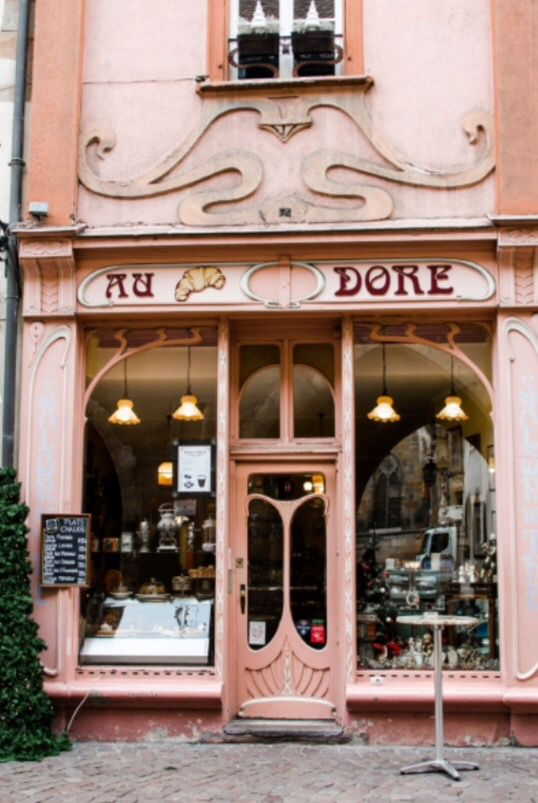 """This romantic shop is from our feature """"Christmas in Colmar"""""""