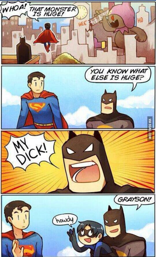 LOL Batman vs Superman