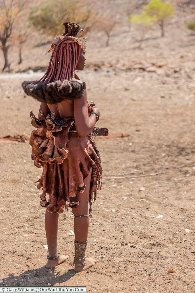 Himba People Namibia Himba People Himba Girl Tribal Fashion