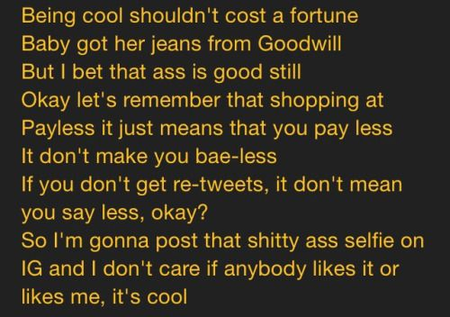 chance the rapper_ wanna be cool