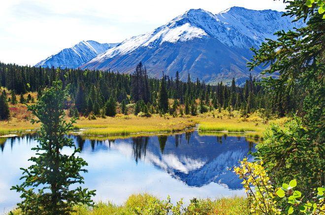 Hiking the Auriol Trail, Kluane National Park, Yukon
