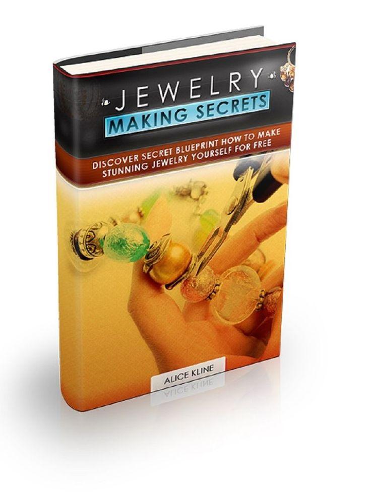 Jewelry Making Secrets  ----Make Stunning Jewelry yourself for FREE---CD