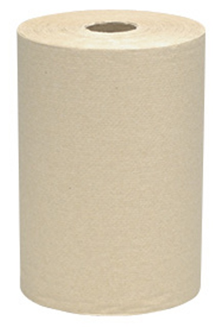 SCOTT, 800' Hard Roll Towels: 12 rolls of 800', SCOTT Hard Roll Towels, brown,