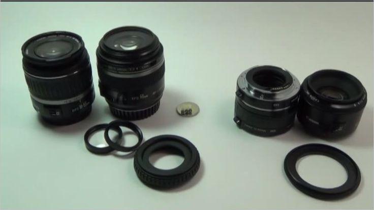 Ein Youtubevideo mit einem Überblick zur Ausrüstung Makrofotografie: https://www.youtube.com/watch?v=MqBpl5sLHRQ