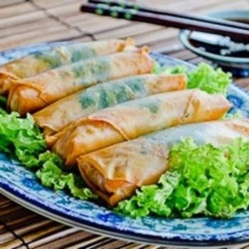 Chinese Vegetable Spring Rolls