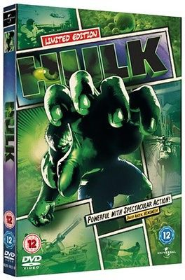 The hulk #(2003): reel heroes #sleeve  dvd eric bana, jennifer #connelly, sam ell,  View more on the LINK: 	http://www.zeppy.io/product/gb/2/291191911479/