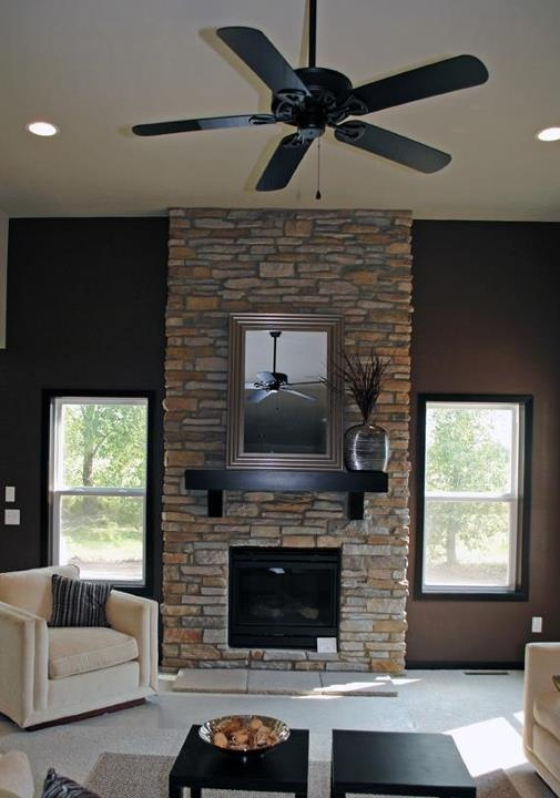 Floor to ceiling granite fireplace submited images - Floor to ceiling fireplace ...