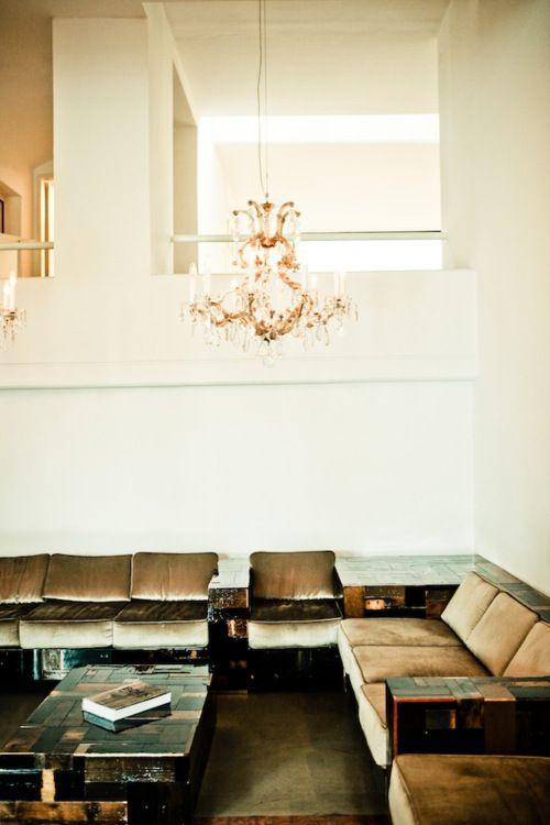 : Interior Design, Sofa, Idea, Living Rooms, Chandelier, Interiors, Graz Austria, Hotels
