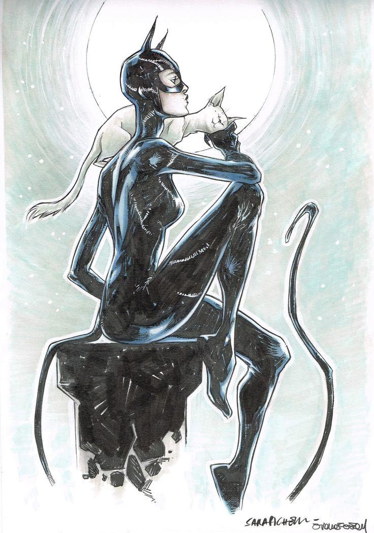Catwoman by Sara Pichelli & Arianna Florean