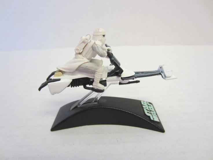Blizzard Force Speeder Bike Titanium Series Die Cast Star Wars #Unknown