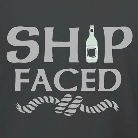 Ship Faced customizable boat cruise t-shirt template. Add your own images, event dates, destination, and more in our online design studio. Order just one or tees for the whole family cruise! Free 10-day shipping in the U.S.