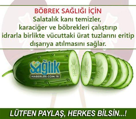 Böbrek sağlığınız için salata tüketin!
