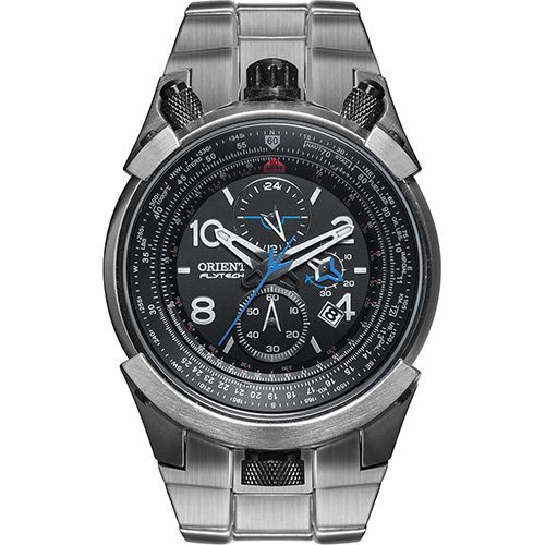 Relógio Masculino Orient Analógico Flytech Titanium Esportivo MBTTC008 P2GX