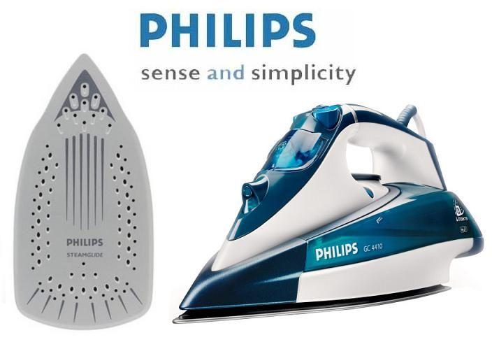 PHILIPS GC4410/02 sa Cord clip i Drip-stop tehnologijama.