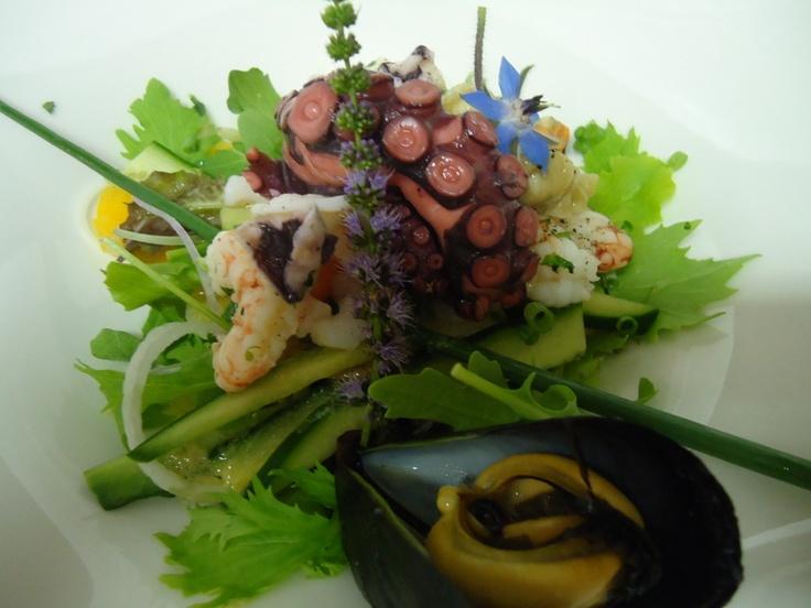 insalata di polipo e cozze chioggiotte