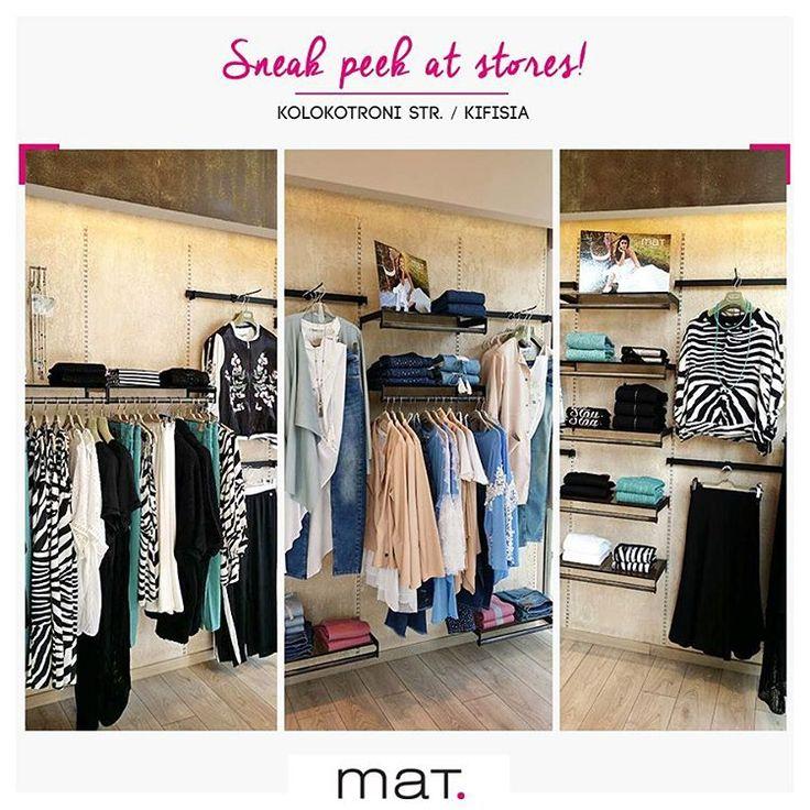 Η ηλιόλουστη μέρα μας ξεκινάει με μια βόλτα στην Κηφισιά! Οι νέες αφίξεις στο κατάστημα μας φτιάχνουν την διάθεση! Ανακαλύψτε τις! {Kolokotroni 9, Kifissia} #matfashion #springsummer2017 #collection #mat_kifissia #shopping #fashion #style #inspiration #plussizefashion #Kifissia