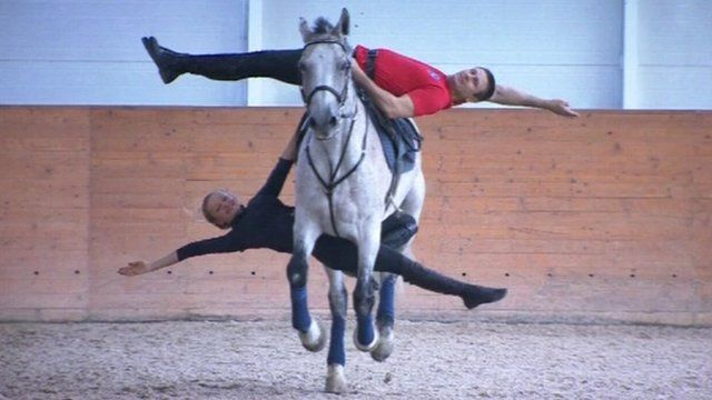 BBC News - Russian Cossack stunt riders to perform at Queen's Jubilee