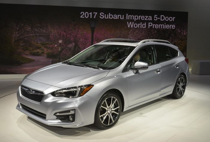 Subaru Impreza 2018 Interior Cars Picture Pinterest