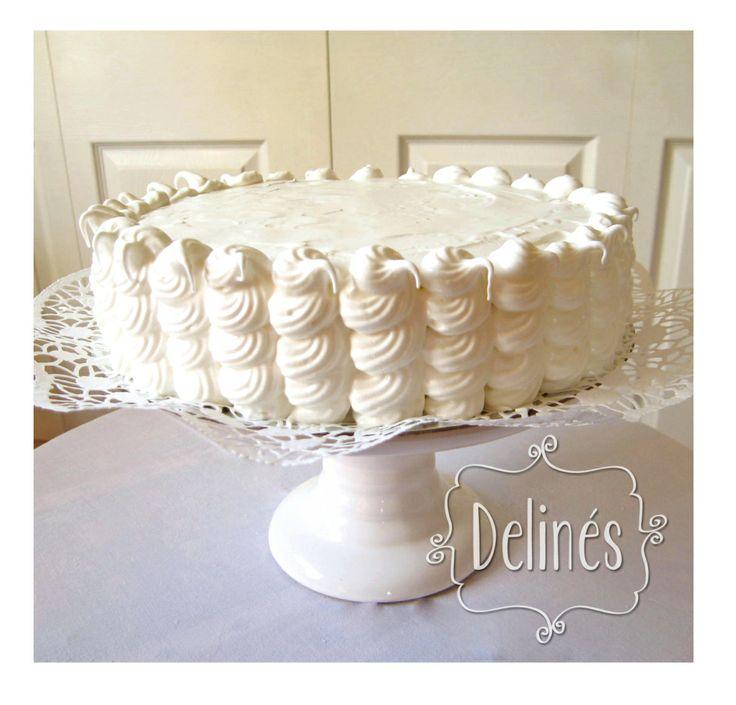 torta rulos para mil hojas con merengue