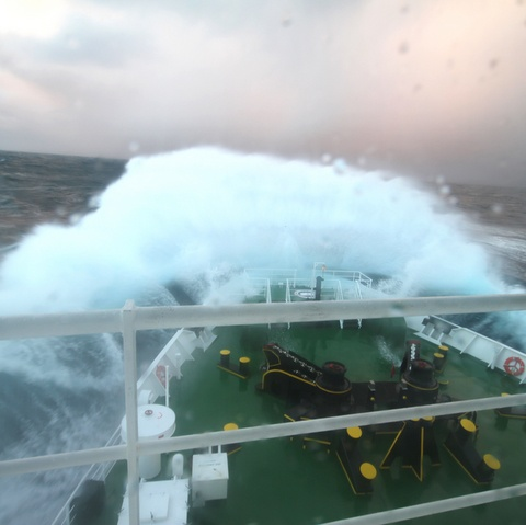 the drake passage. still not afraid of it. but after passing through it twice, huge respect for it. I'd do it all again.