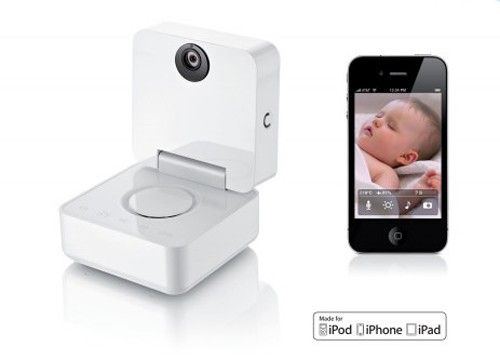 Expensive at $299 but WAY cool. You can not only see and hear your baby with night vision equipped camera but know temperature in the room!