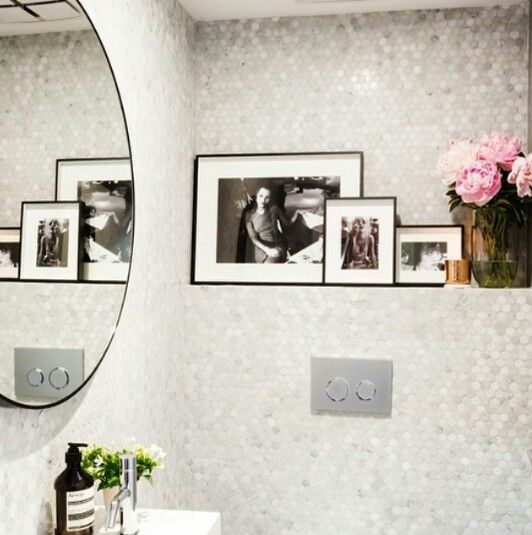 Powder room inspo courtesy of Dea & Darren on The Block
