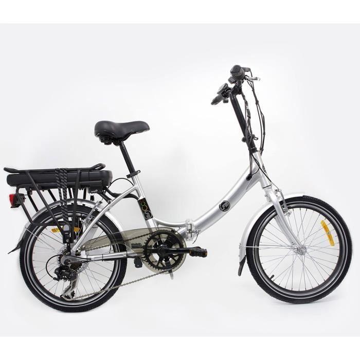 LFB Vélo Electrique Alu VAE Pliant 36V 20'' Mixte pas cher prix promo Vélo Electrique Cdiscount 699.99 € TTC au lieu de 1 098 €