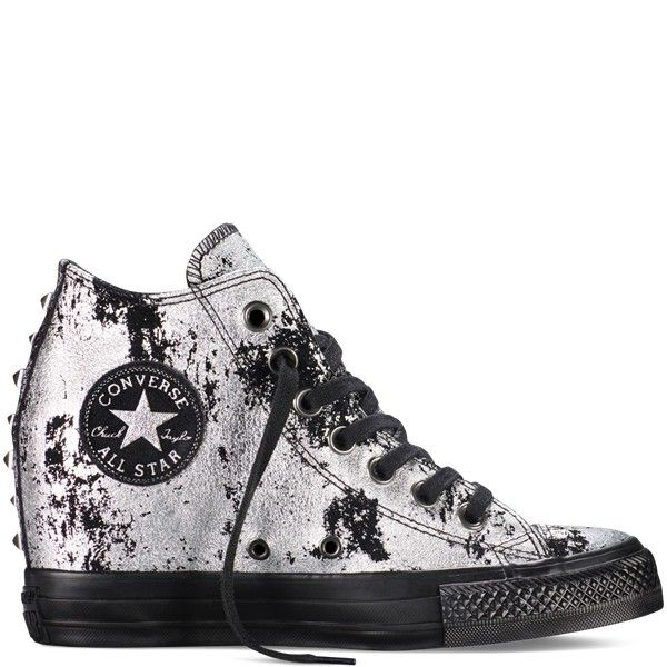 Womens Converse Chuck Taylor All Star Lux Hardware Silver UK Online Store