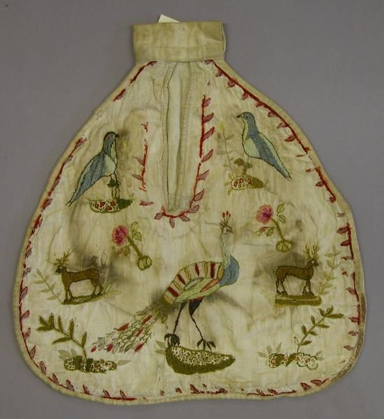 Pocket,single,embroidered, Nat'l Museums of Scotland, early-mid 18th c.