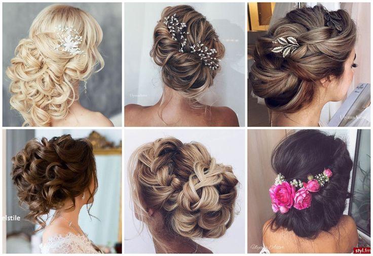 Výsledek obrázku pro účesy pro dlouhé vlasy na svatbu