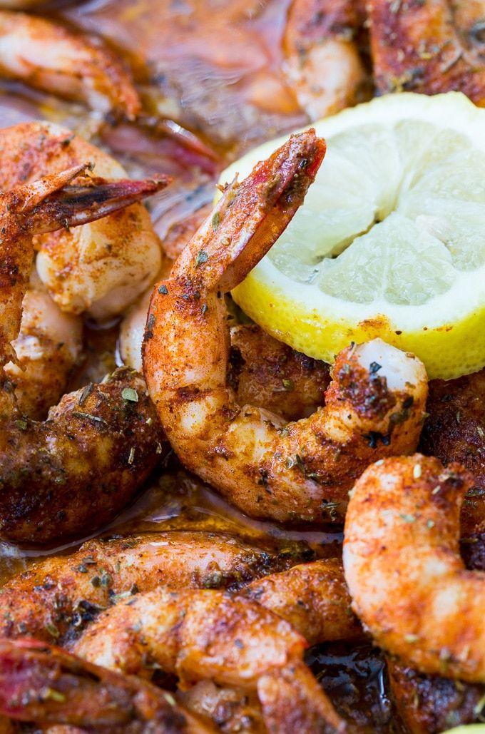 Buttery Broiled Shrimp make an easy appetizer