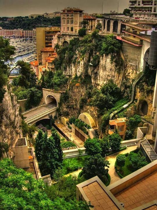 Monaco.  It looks like a real live Rivendell.