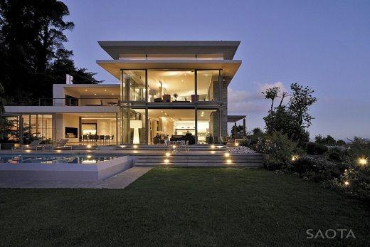 Casa de lujo con piscina de saota saota arquitectura - Arquitectura y diseno de casas ...
