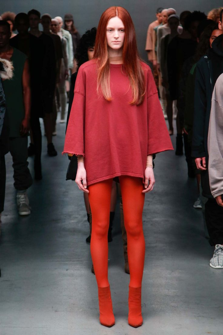 That is really good!  Kanye West x Adidas Originals Fall 2015 Ready-to-Wear - Collection - Gallery - Style.com